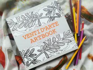 Artbook con illustrazioni artistiche di Sara Cioncolini