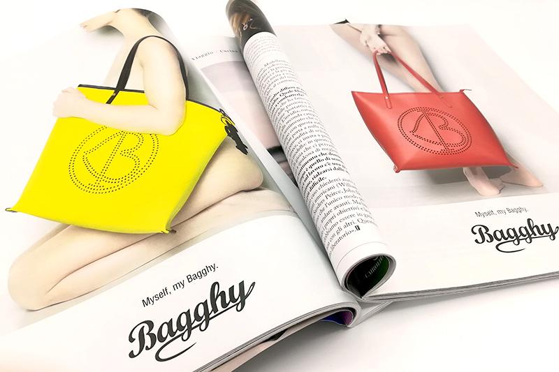 Riviste moda e benessere, Bagghy borse